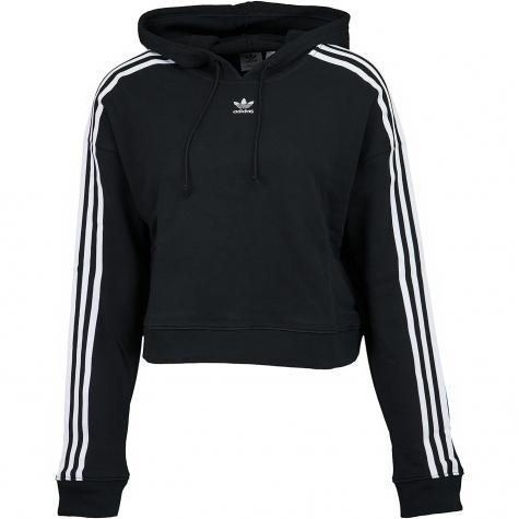 Adidas Originals Damen Hoody Cropped schwarz