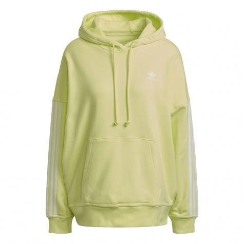 Adidas Oversized Damen Hoody gelb