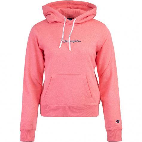 Champion logo Damen Hoody pink