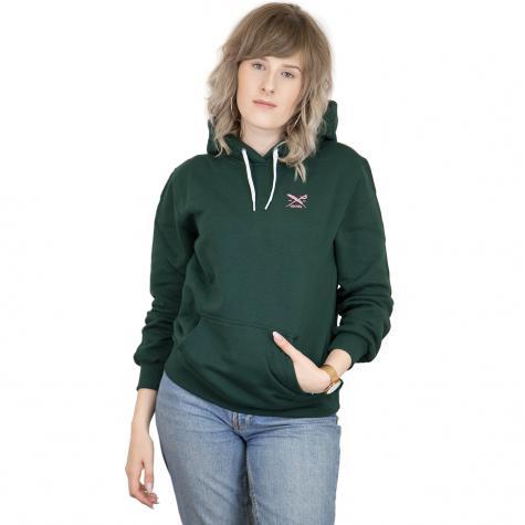 Iriedaily Damen Hoody Different dunkelgrün