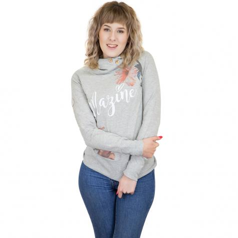 Mazine Damen Hoody Gidya Light l.grey/hib
