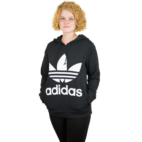 Adidas Originals Damen Hoody Trefoil schwarz