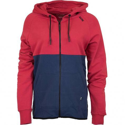Mazine Zip-Hoody Treen rot/dunkelblau