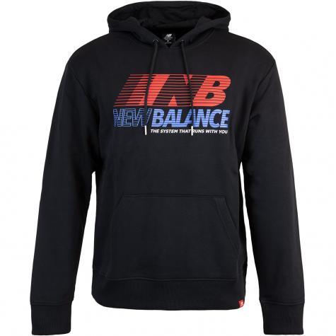 New Balance Hoody Essentials Speed schwarz