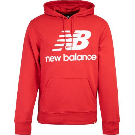 New Balance Hoody Essentials Stack Logo rot