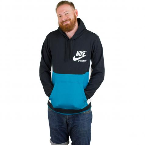 Nike Hoody Archive PO schwarz/sail