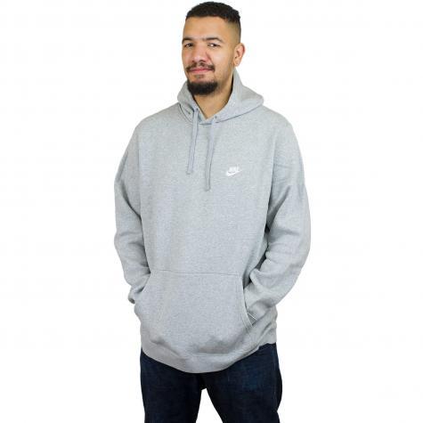 Nike Hoody NSW PO Fleece Club dunkelgrau/weiß