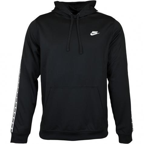 Nike Hoody Repeat PO schwarz/weiß