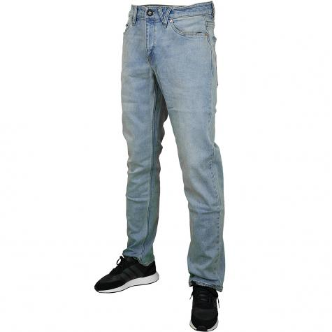 Volcom Jeans Solver allover stone light hellblau