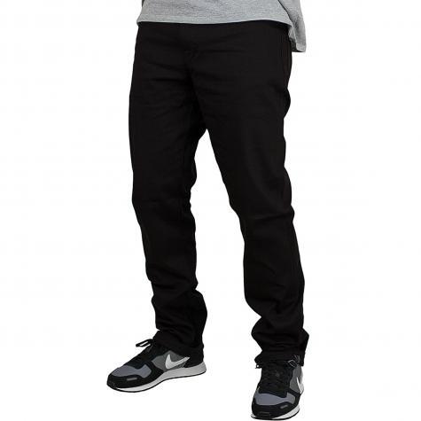 Volcom Jeans Solver schwarz on schwarz