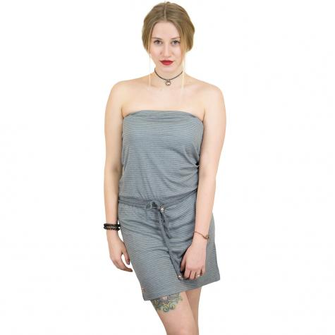 Mazine Kleid Roselle schwarz/weiß