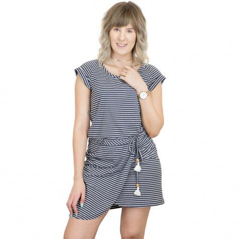 Ragwear Kleid Glitter Organic dunkelblau