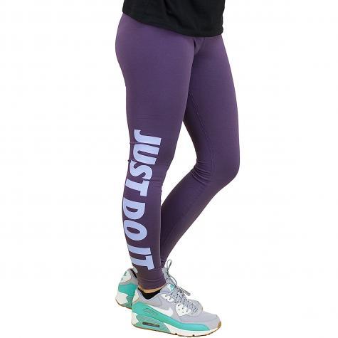 Nike Leggings Leg-A-See Just Do It lila