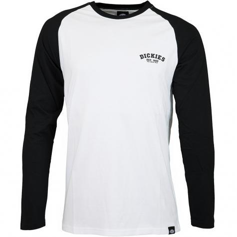Dickies Longshirt Baseball schwarz/weiß