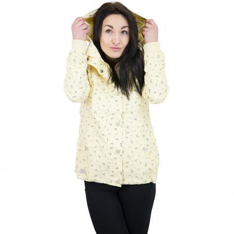 Ragwear Damen-Jacke Charlene gelb