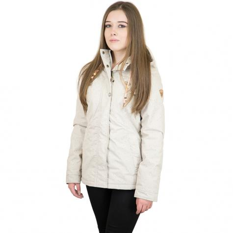 Ragwear Damen-Jacke Lynx Dots beige