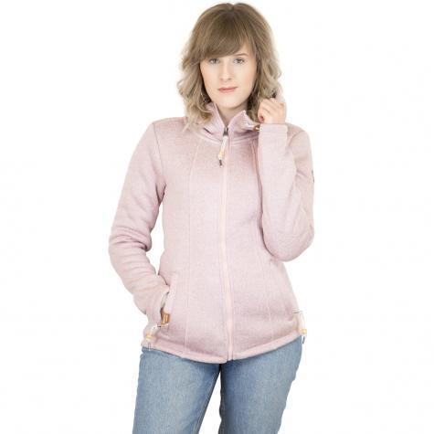 Ragwear Damen-Sweatjacke Renne pink