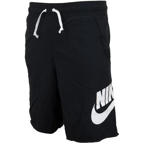 Nike Shorts Alumni French Terry schwarz/weiß