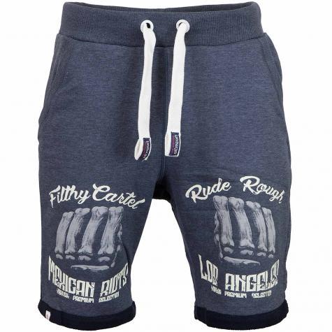 Yakuza Premium Shorts 2627 dunkelblau