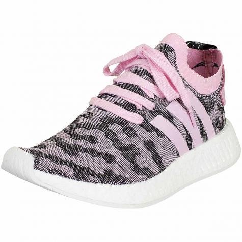 Adidas Originals Damen Sneaker NMD R2 Primeknit pink/schwarz
