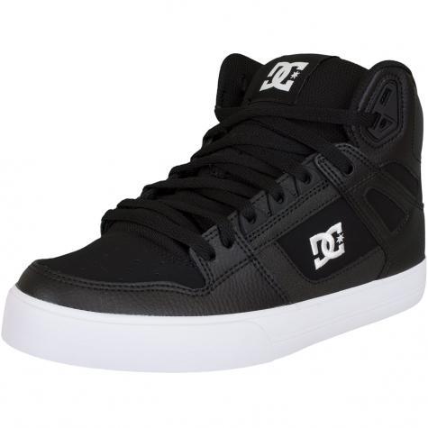 DC Shoes Sneaker Pure High WC schwarz/weiß