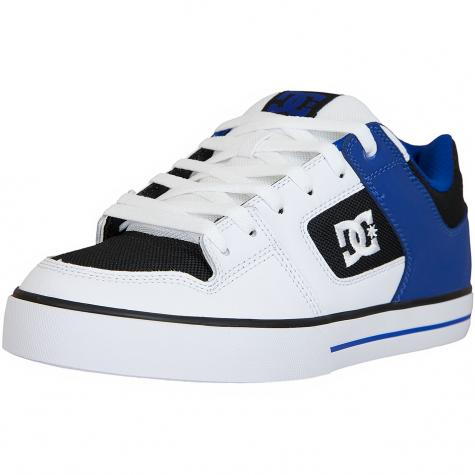 DC Shoes Sneaker Pure weiß/schwarz/blau