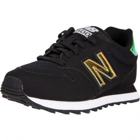 New Balance NB 500 Damen Sneaker Schuhe schwarz