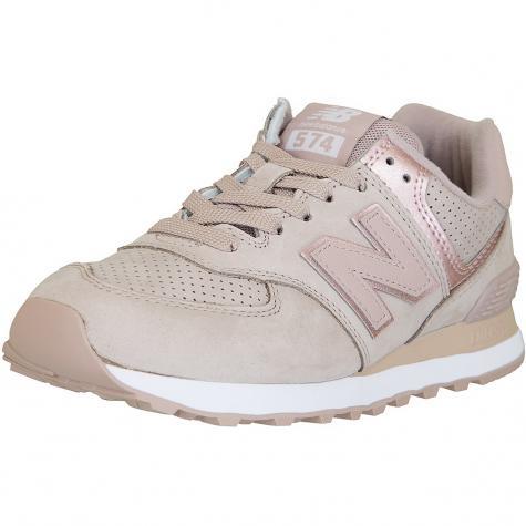 New Balance Damen Sneaker 574 Leder/Synthetik rose