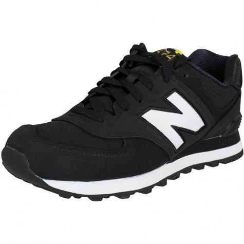 New Balance Sneaker ML574 D Textil/Synthetik schwarz