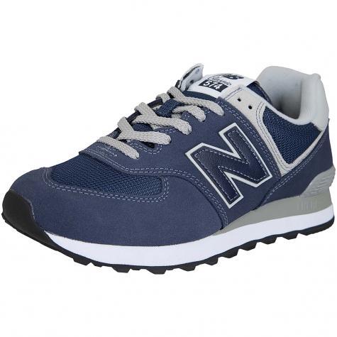 New Balance Sneaker 574 Wildleder/Mesh/Synthetik dunkelblau