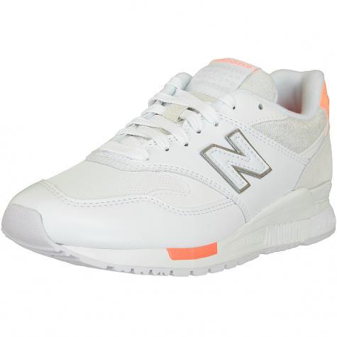 New Balance Sneaker 840 Synthetik/Wildleder/Textil weiß