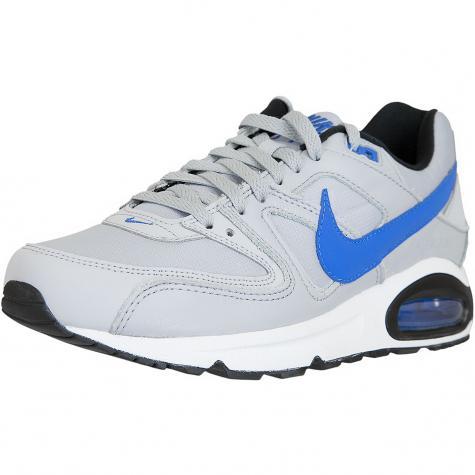 Nike Sneaker Air Max Command grau/blau