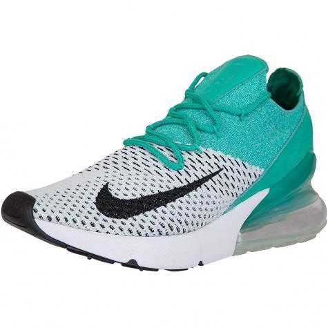 Nike Damen Sneaker Air Max 270 Flyknit emerald/schwarz