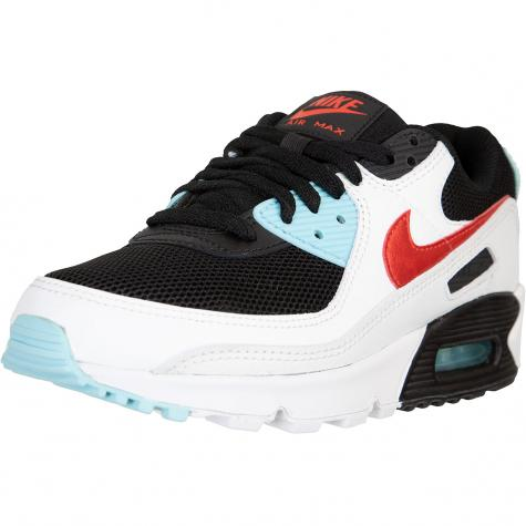 Nike Air Max 90 Damen Sneaker weiß/aqua