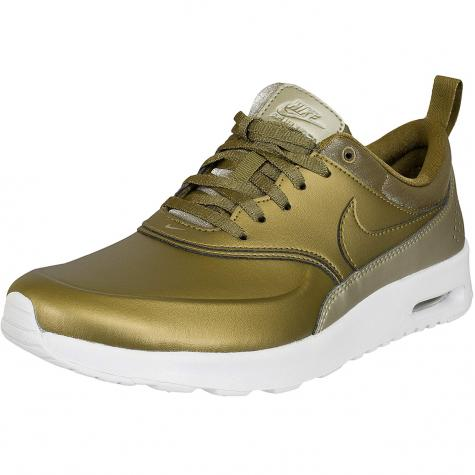 Nike Damen Sneaker Air Max Thea Premium mtlc field