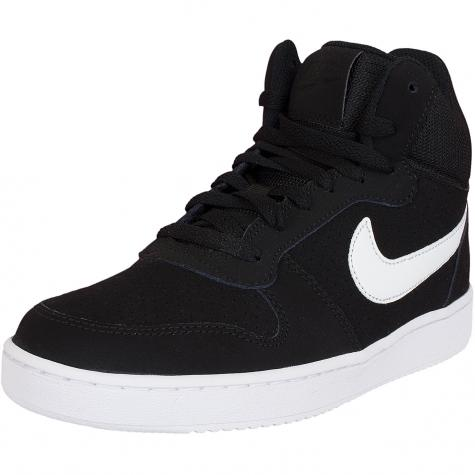 Nike Damen Sneaker Court Borough Mid schwarz/weiß