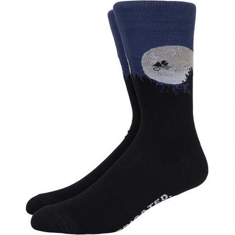 Dedicated Socken ET Moon schwarz