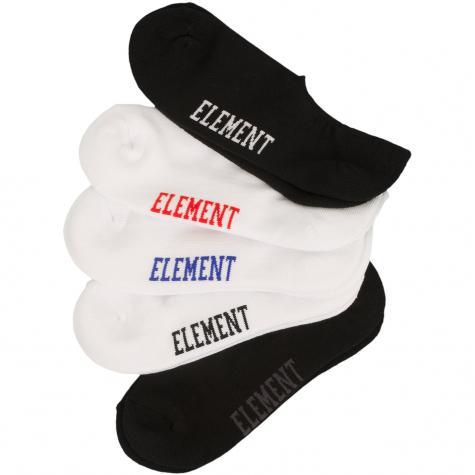 Element Socken Low-Rise 5er multi