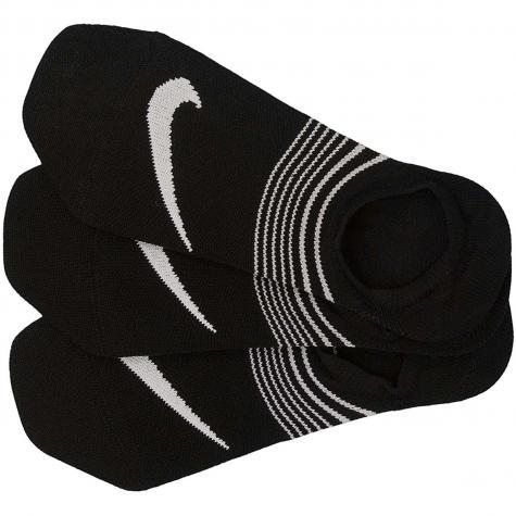 Nike Damen Socken Lightweight Footie schwarz/weiß
