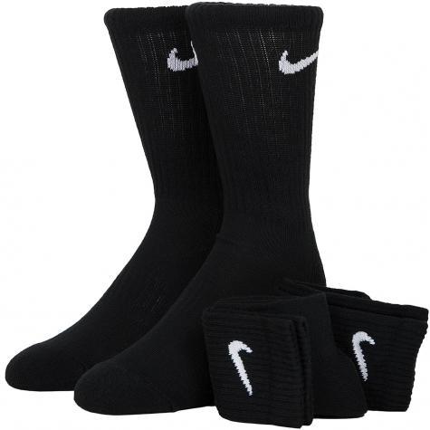 Nike Socken Cushion Crew 3er schwarz/weiß