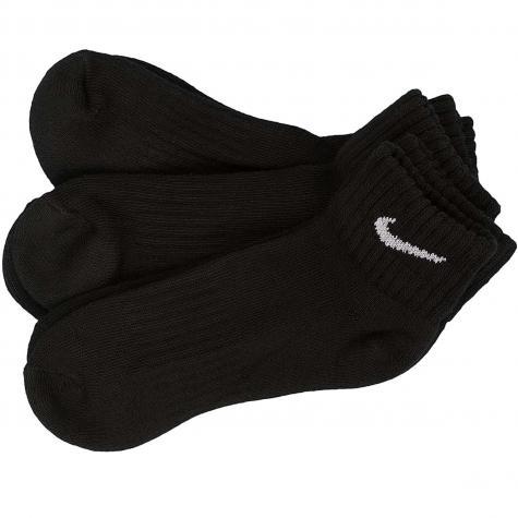 Nike Socken Cushion Quarter Training schwarz/weiß