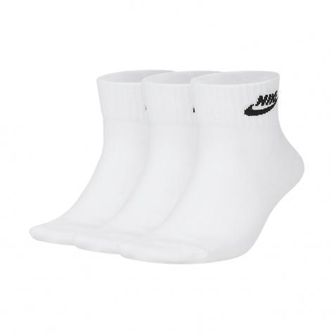Nike Essential Ankle Socken 3er Pack weiß/schwarz