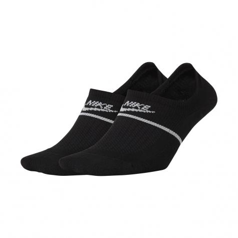 Socks Nike Essential Footie 2er black/weiß