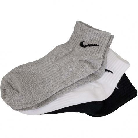 Nike Socken Lightweight Quarter 3er mehrfarbig