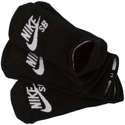 Nike Socken SB No-Show schwarz/weiß