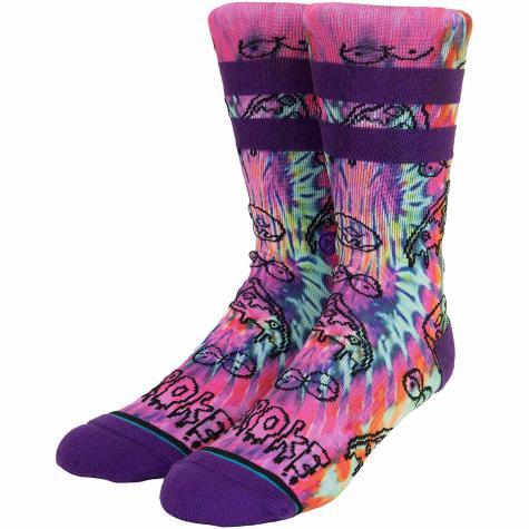 Stance Socken Broke lila/pink