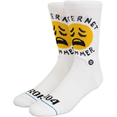 Stance Socken Bummer weiß
