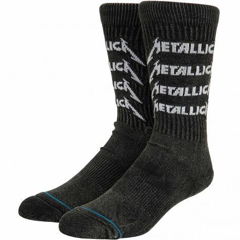 Stance Socken Metallica Stack schwarz