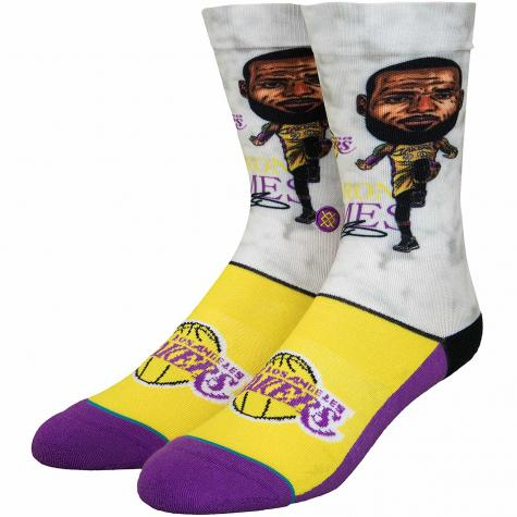 Stance Socken NBA Legends LeBron Big Head multi