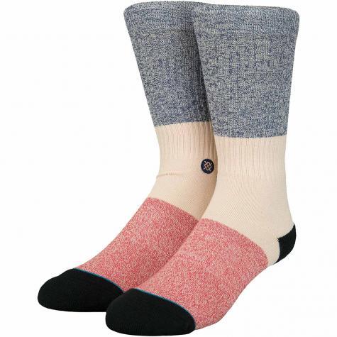Stance Socken Neapolitan dunkelblau/beige/rot